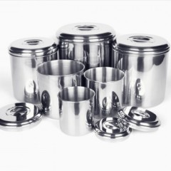 Onyx Containers Stainless Steel Canisters