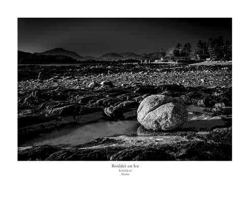 Boulder on Ice – Print – 11X14″
