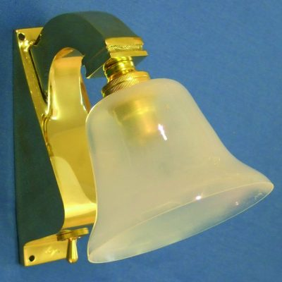 Davey Brass Bracket Light with switch