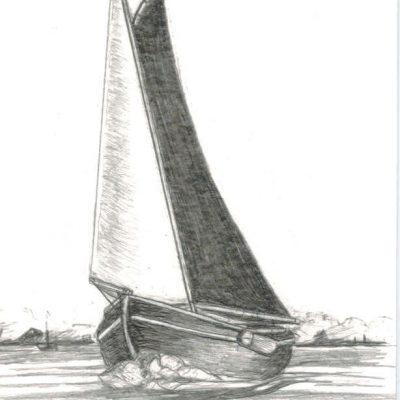 Post Card 'Frisian Lakes'