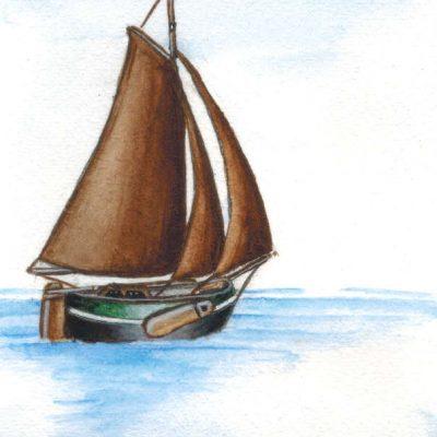Post Card 'Wadden Sea'