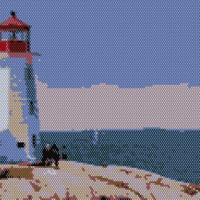 Lighthouse Beading Pattern