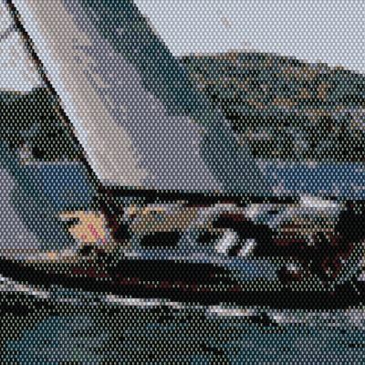 Digital Product: Beading Pattern – Your Boat from Your Photo