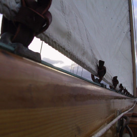 Securing sail slides with the Privateer Knot
