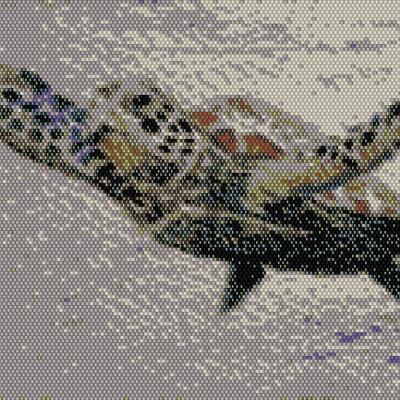 Sea Turtle Beading Pattern
