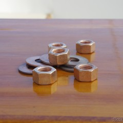 Silicon Bronze Nuts