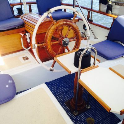 Captain's Wheel. Have your wheel French Spiraled.