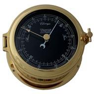 Weems & Plath Martinique Nautical Flag Black Dial Barometer