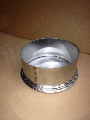 Inch stainless steel tee cap schooner chandlery