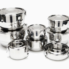 ONYX STAINLESS STEEL AIRTIGHT STORAGE CONTAINERS