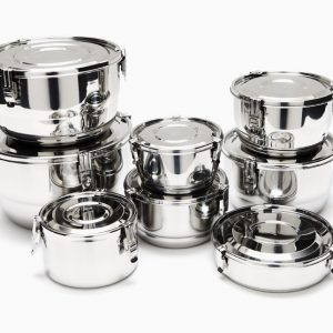 Onyx Containers Airtight Stainless Steel