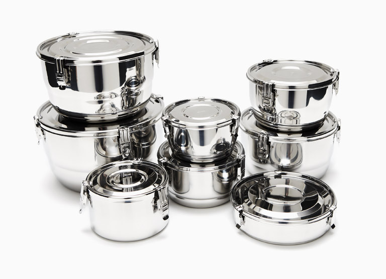 Onyx Stainless Steel Airtight Storage Containers Schooner Chandlery