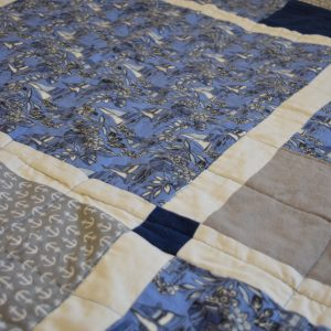 Nautical Quilt- Throw Blanket or V-Berth Quilt