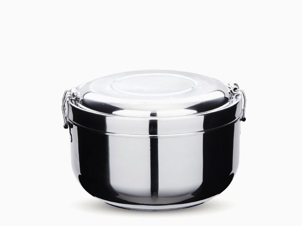 Onyx Stainless Steel 2 Layer Double Walled Food Storage Container