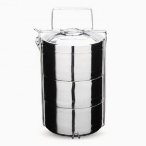 Onyx Stainless Steel 2 Layer, 3 Layer and 4 Layer Tiffin Food Storage Container