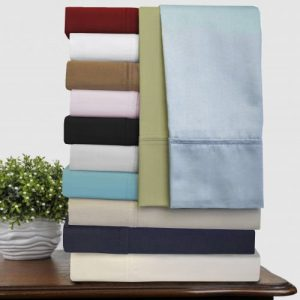 Maine Made CinchFit Sheet Set - Fitted Sheet Does Not Pop Off - Beautiful Made in the USA Product