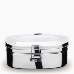 Onyx Stainless Steel 2 Layer Medium and Large Sandwich Box