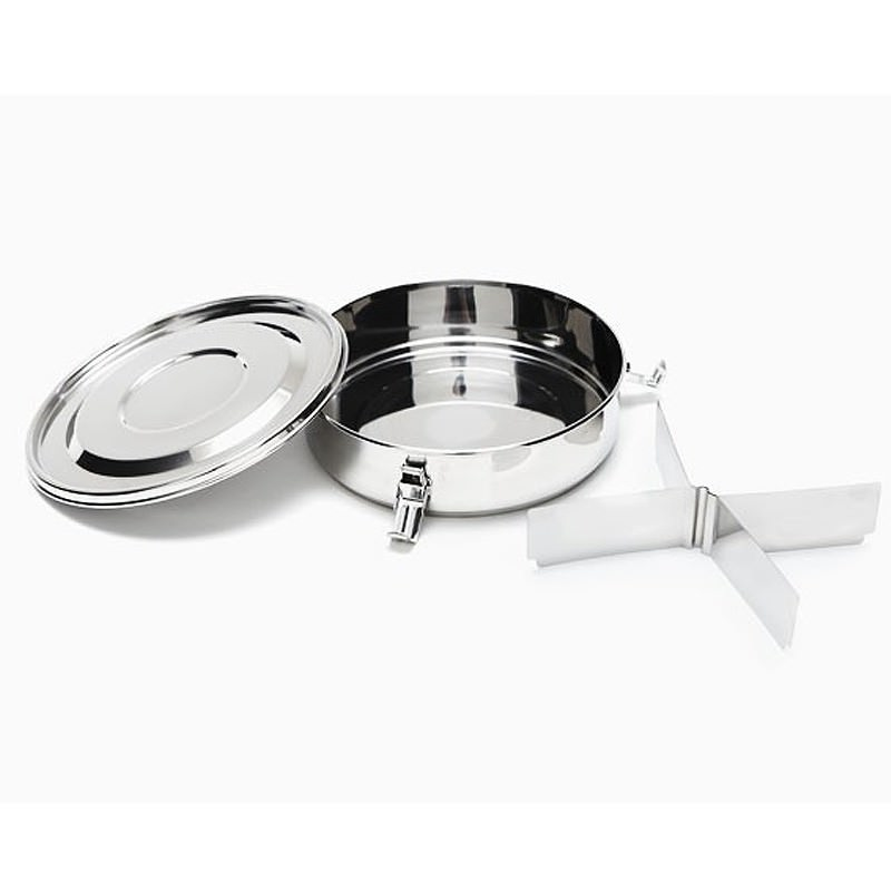 Airtight Stainless Steel Cabinet ~ Onyx stainless steel airtight storage containers with