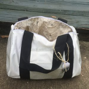 Recycled Sailcloth Duffel Bag 3