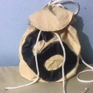 Recycled Sailcloth Backpack/Purse