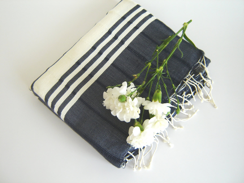 Turkish bath towel eco friendly peshtemal schooner for Home spa brand towels