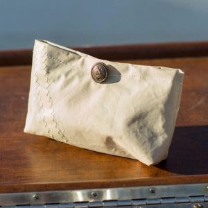 Nautical sailcloth coin purse
