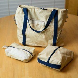 Small Nautical Men's Shaving Case/ Women's Make up bag