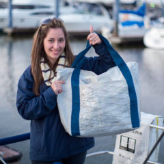 XL HANDMADE SAILCLOTH BAG