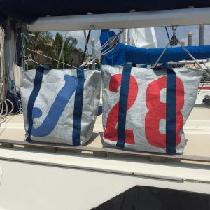 Recycled Sailcoth Handmade XL Bag
