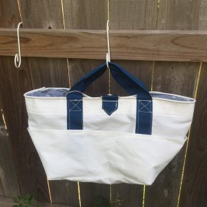 Recycled Racing Sailcloth Shower or Pool Bag