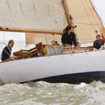 A cruising yacht goes racing: taking part in the Suffolk Yacht Harbour Classic Regatta