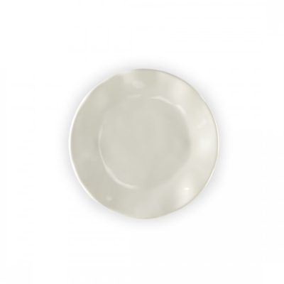Q Squared NYC Ruffle in Linen Bread & Butter Plate