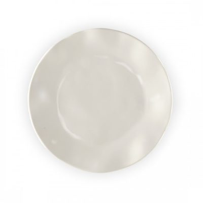 Q Squared NYC Ruffle in Linen Salad Plate
