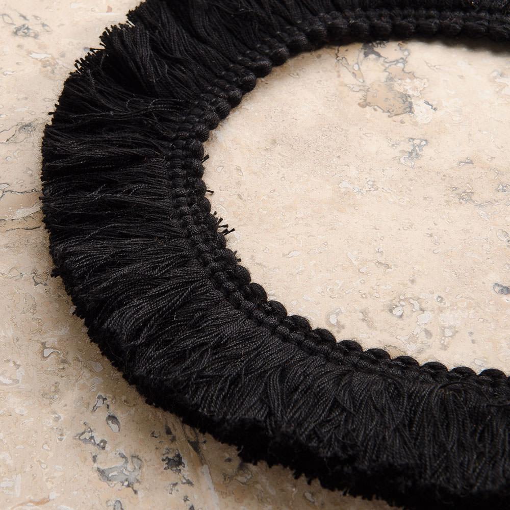 Sunbrella Decorative Fringe 2 Quot Black Schooner Chandlery