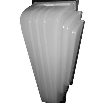 Art Deco Interior Light - Chrome Back Plate