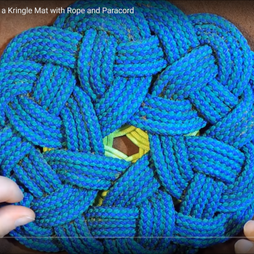 How to Make a Kringle Mat with Rope