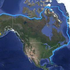 SV Celebrate Completes Northwest Passage