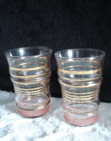 Set Of 4 Aperetif And Cocktail Glasses Wedding Glasses Schooners Toasting Glasses