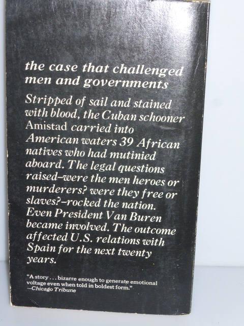 111517BB11 -- TRUE STORY 1st Edition 1970 The Amistad Affair Christopher Martin Mutiny of Slaves Cuban Schooner Court Battle